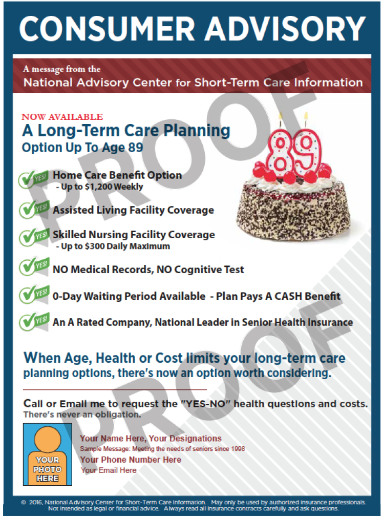 short term care insurance advisory two